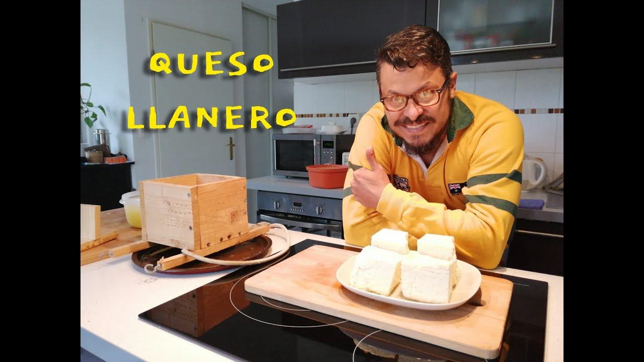 Cómo hacer queso llanero