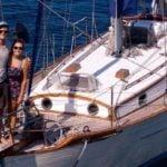Una pareja estuvo en alta mar por semanas, sin enterarse de la pandemia
