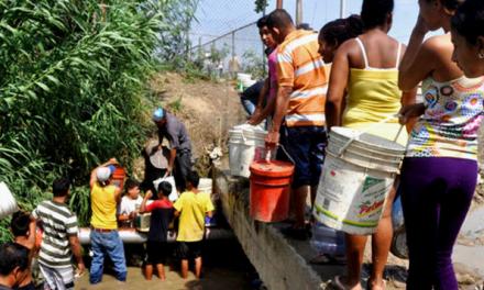 Persisten las fallas en el servicio de agua en Caracas