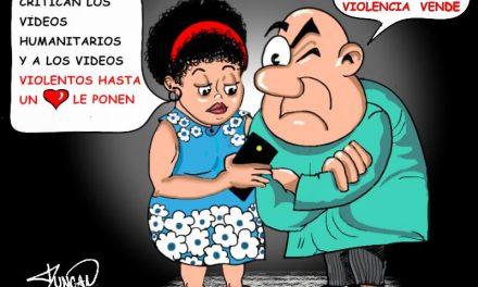 La violencia vende – Caricatura de Duncan
