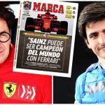 Binotto: «Sainz puede ser campeón del mundo con Ferrari»