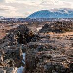 La zona de mayor actividad volcánica conocida está en el Pacífico Sur