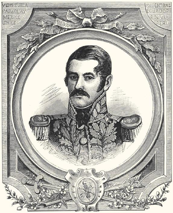El 6 de julio de 1782 nació el Almirante Luis Brión