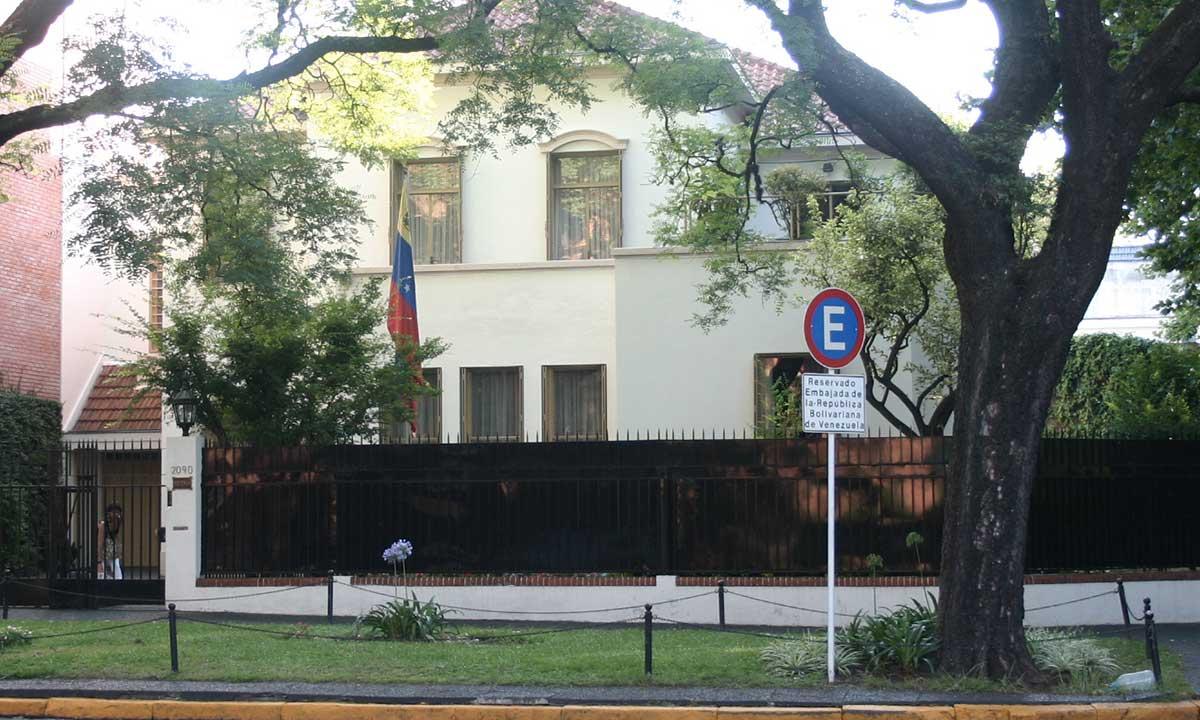 VENEZOLANOS-ARGENTINA-EMBAJADA