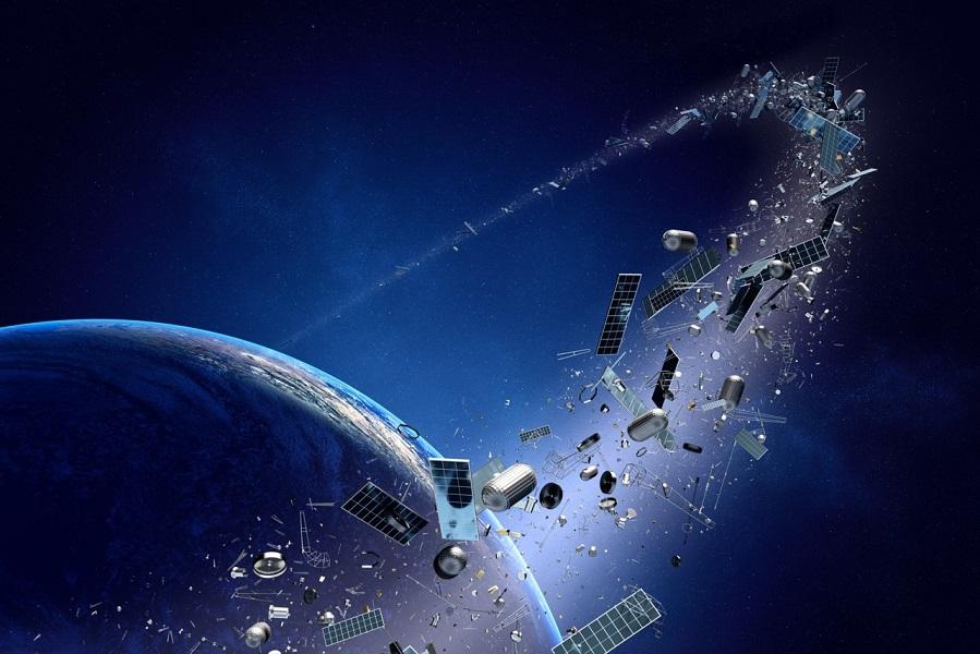 Conoce cómo funciona la nave de la NASA que limpiará la basura espacial