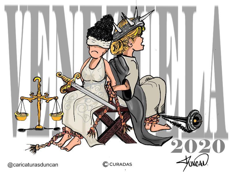 Venezuela hoy - Caricatura de Duncan