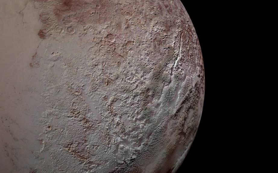 NASA: Las capas de hielo de Plutón son muy diferentes a las de la Tierra