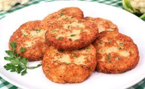 Torticas de coliflor: Rica y saludable receta para prepararla en minutos