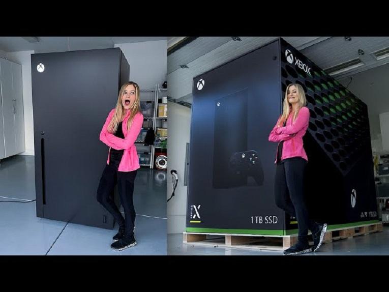 """Microsoft crea un frigorífico """"Xbox Series X"""" basándose en un meme viral"""