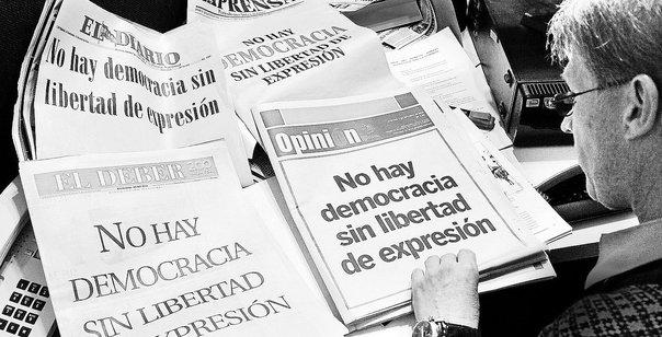 La intolerancia a la prensa libre