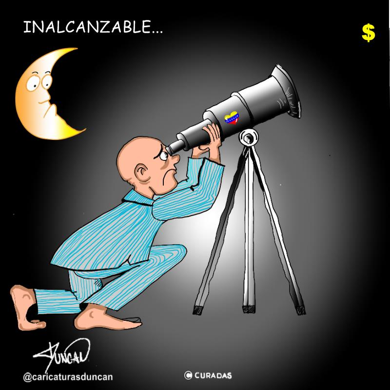 Inalcanzable - Caricatura de Duncan