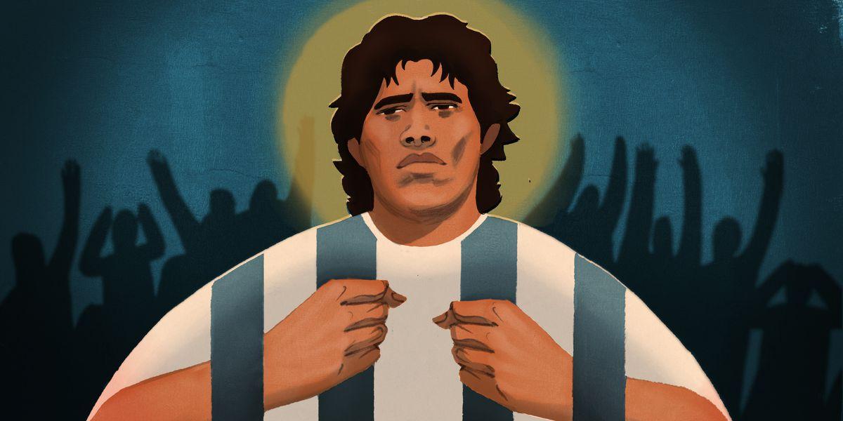 Maradona el de los laureles o la tarjeta roja