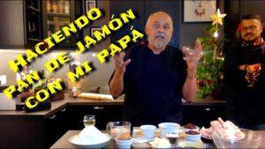 Video de cómo hacer el pan de jamón de Claudio Nazoa