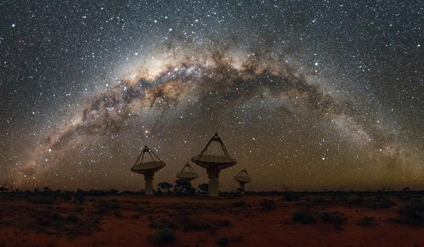 """Australia: Crean un nuevo """"atlas del universo""""con tres millones de galaxias"""