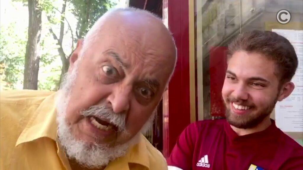 Claudio Nazoa entrevista a Rodrigo Adam en París