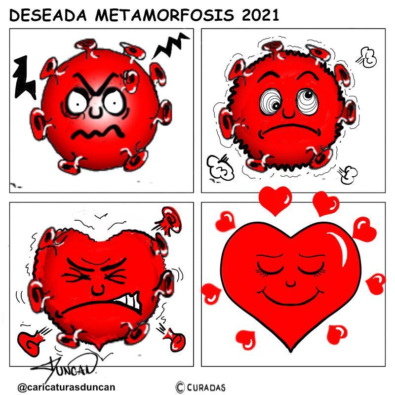 Metamorfosis - Caricatura de Duncan