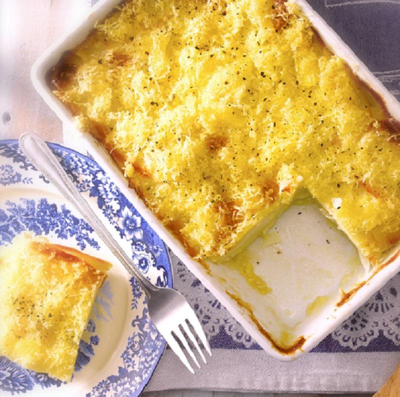 Con salsa de queso: prepara las papas gratinadas más sabrosas