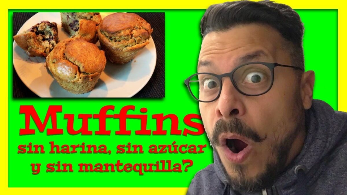 Cómo hacer muffins o ponquecitos dietéticos ligeros de solo 70 calorías