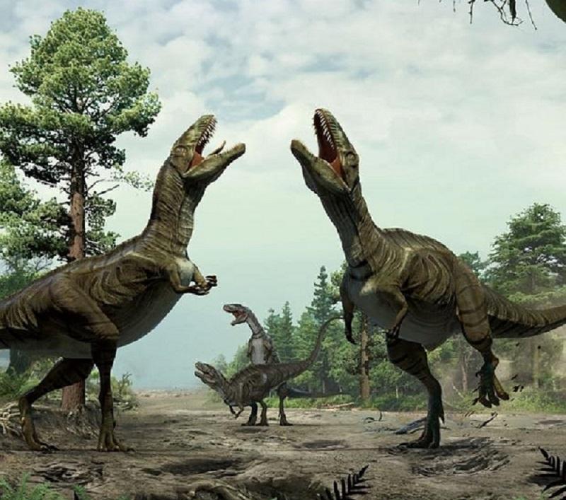 Descifran el ritual de apareamiento de diversas especies de dinosaurios