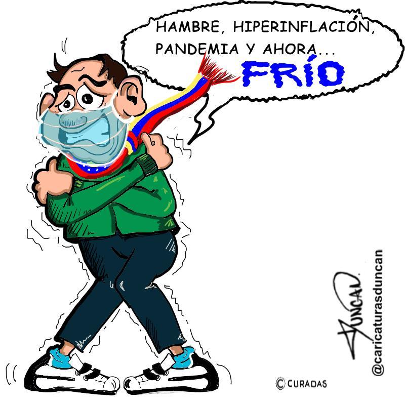 Frío - Caricatura de Duncan