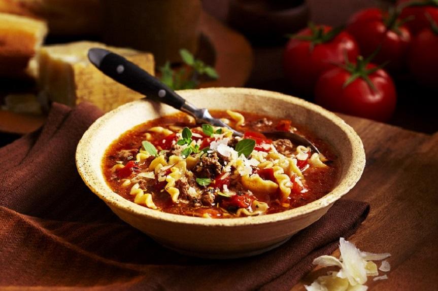 Sopa de lasaña: aprende a preparar esta deliciosa y facil receta