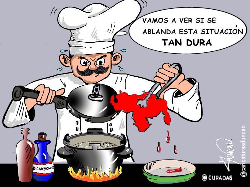 Tan dura - Caricatura de Duncan