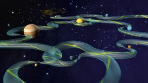 """Científicos descubren la fascinante red de """"autopistas celestiales"""""""