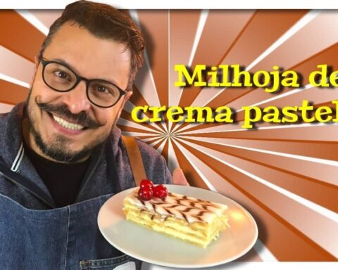 Como preparar milhoja crema pastelera