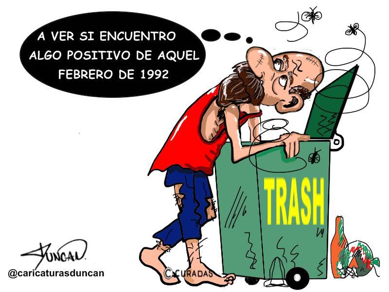 Trash - Caricatura de Duncan