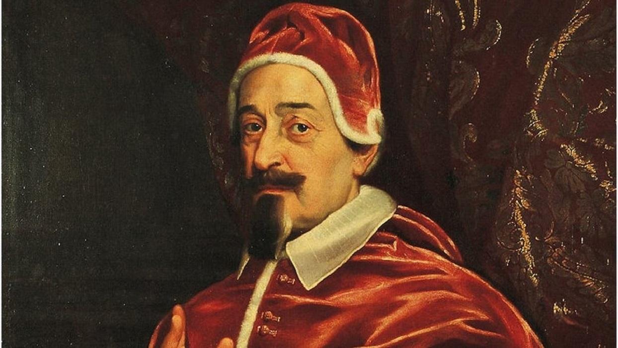 El Papa que salvó a Roma de la peste en el siglo XVII