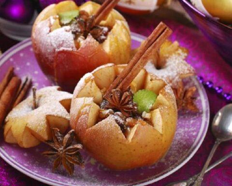 ¡Fácil y delicioso! Prepara este sabroso postre de manzanas con canela