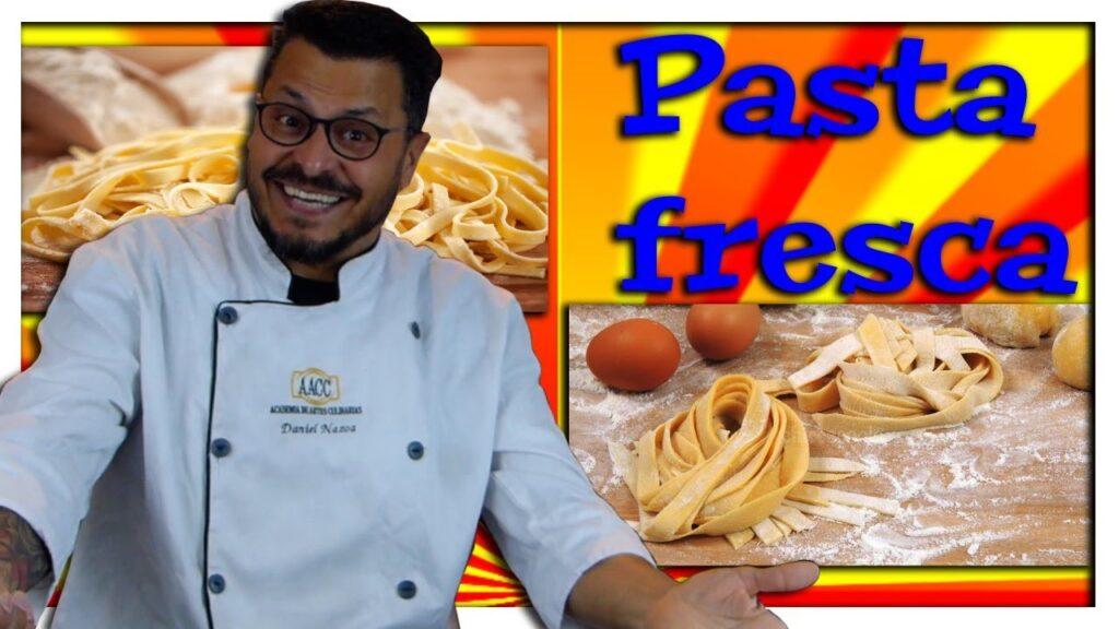 Como hacer pasta fresca italiana en casa