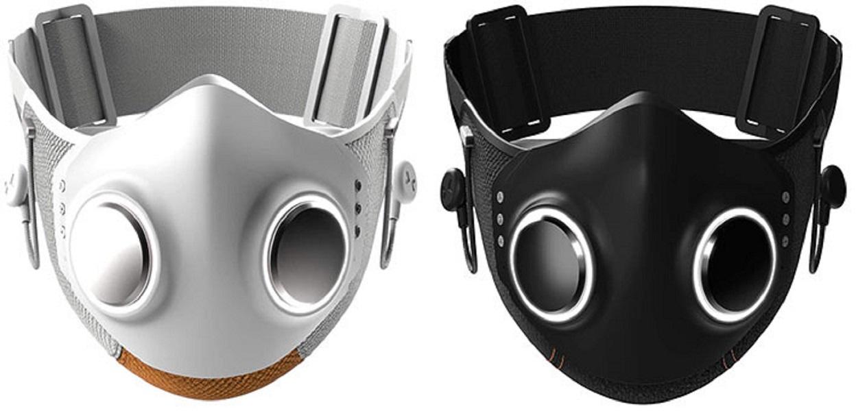 La mascarilla futurista Xupermask con un toque cyberpunk