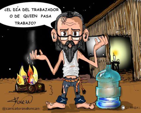 Solo pregunto - Caricatura de Duncan