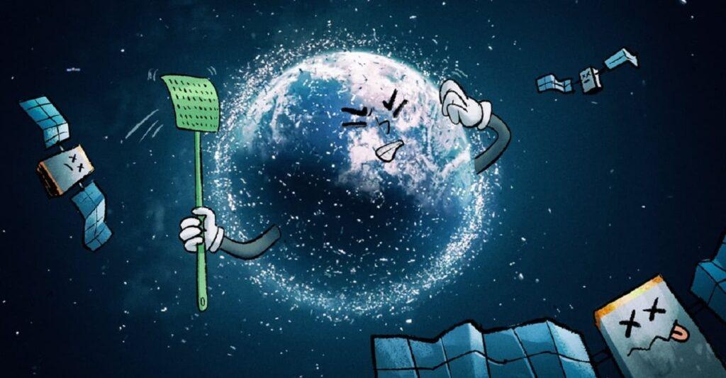 Dos problemas en uno: el cambio climático y la basura espacial