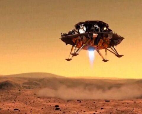 China es el segundo país del mundo en aterrizar robot con éxito en Marte