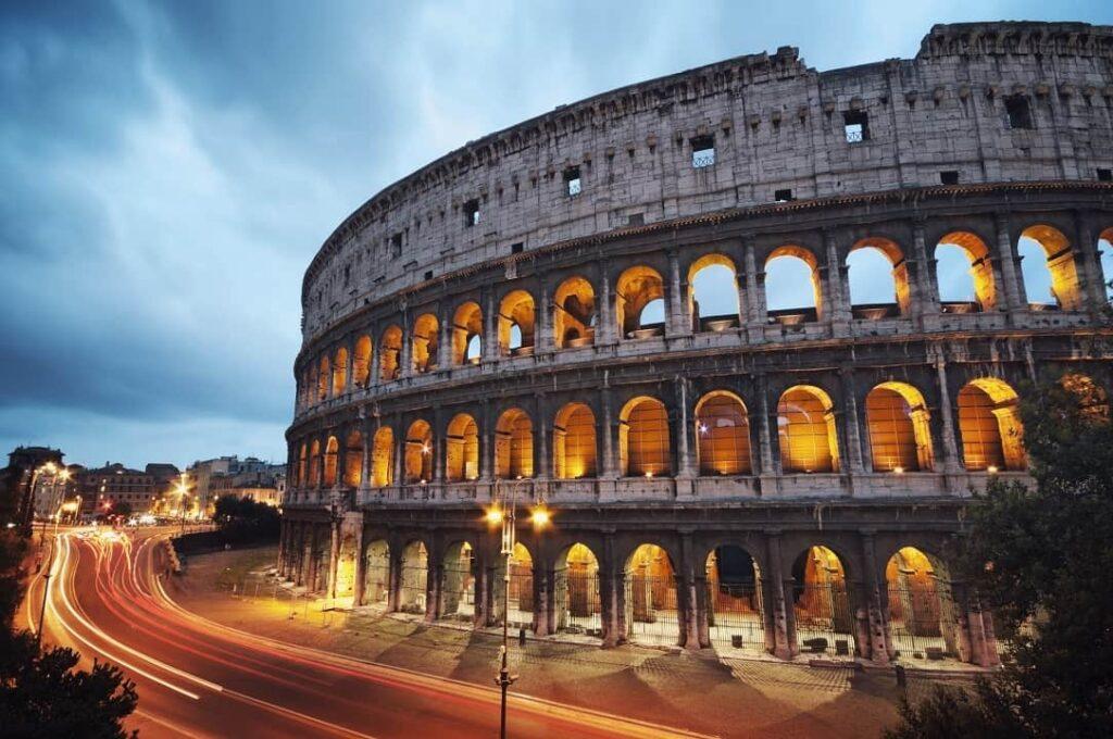 El Coliseo romano y el ambicioso proyecto de Italia