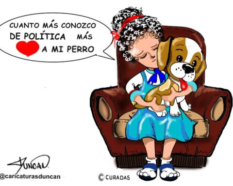 Amor incondicional - Caricatura de Duncan