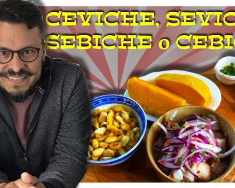 Ceviche historia origen del nombre receta Daniel Nazoa