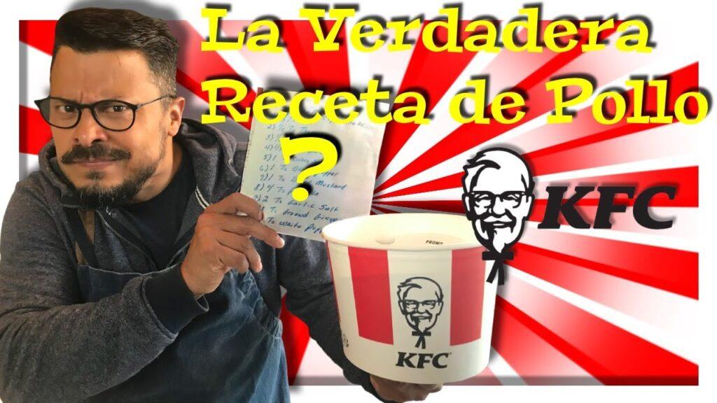 Receta pollo frito KFC Daniel Nazoa