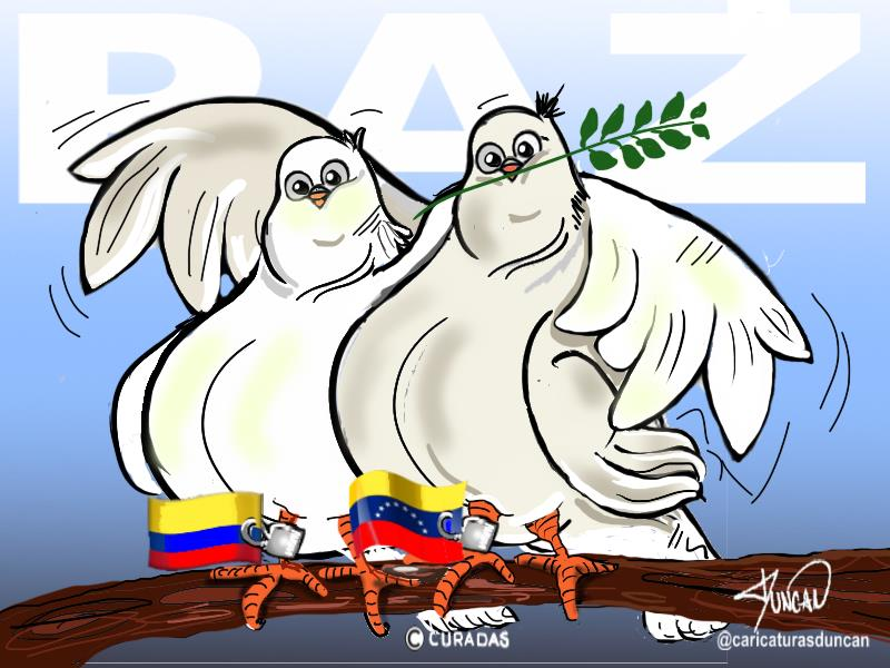 Paz - Caricatura de Duncan