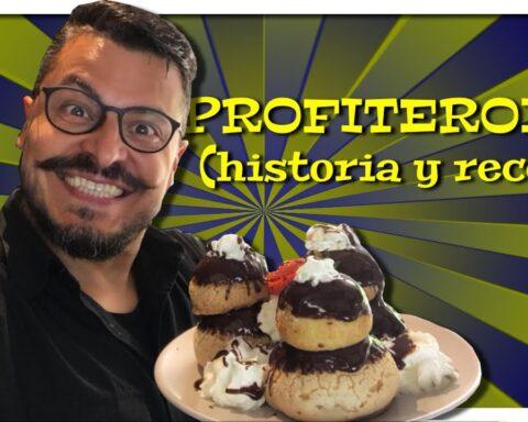 Historia y receta del profiterol