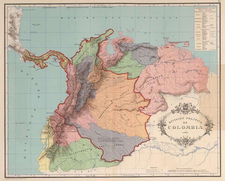El 22 de junio de 1826 se instala el Congreso de Panamá