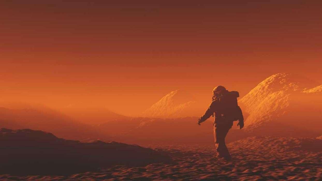 China: conoce el campamento marciano que simula al planeta rojo
