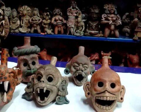 """Así suena """"el silbato de la muerte"""" que los aztecas usaban en batalla"""