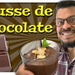 Mousse de chocolate historia y receta con Daniel Nazoa