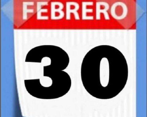 30 de febrero, la única vez qué existió en el calendario
