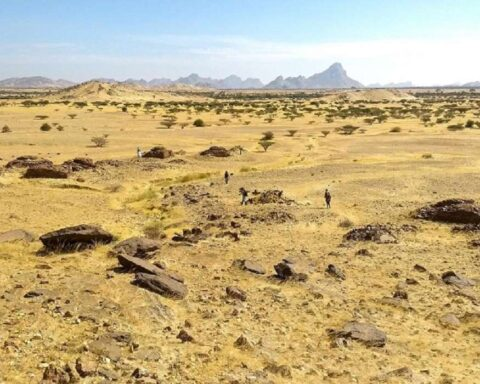 Kassala: antiguas tumbas islámicas fueron agrupadas en forma de galaxia