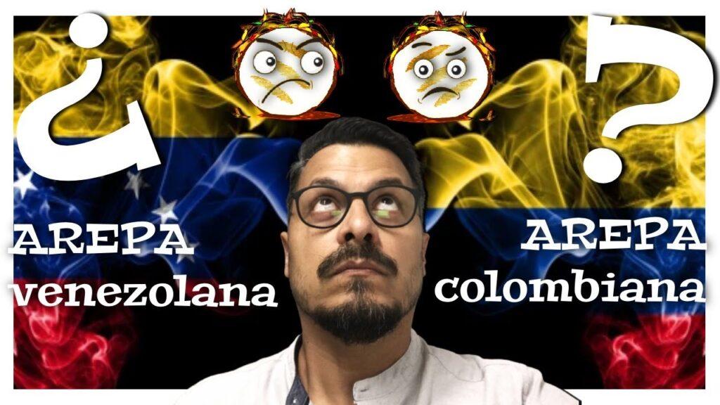 La arepa es venezolana o colombiana