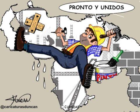 Lo reconstruiremos - Caricatura de Duncan